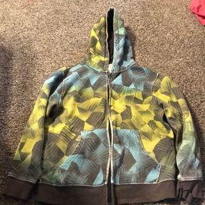 Sweatshirt free with purchase
